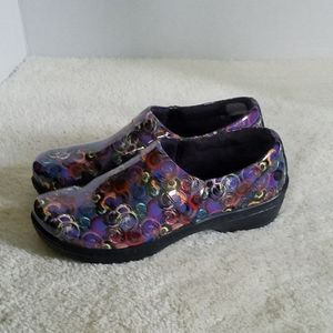 Klogs Mission Red Blue Purple Yellow Clogs